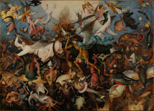 Fall of the Rebel Angels - Pieter Bruegel the Elder (1562)