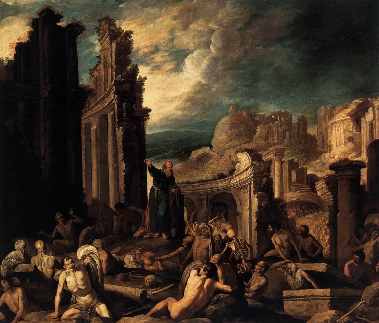 The Vision of Ezekiel - Francisco Collantes (1629)