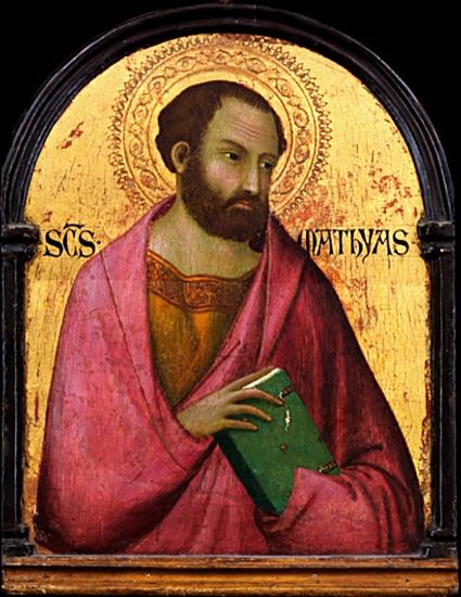 Saint Matthias - Simone Martini (circa 1317-1319)