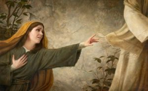 Woman touches Jesus' cloak - Unknown artist