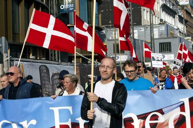 Denmark protesters