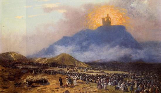 Moses on Mount Sinai - Jean-Leon Gerome (1895-1900)
