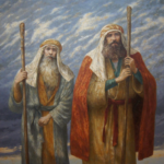 Moses and Aaron - Artist Unknown
