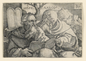 Moses and Aaron - Unknown Artist (1526)