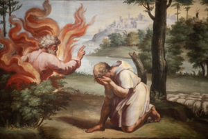 Moses and the Burning Bush - Pascal Deloche