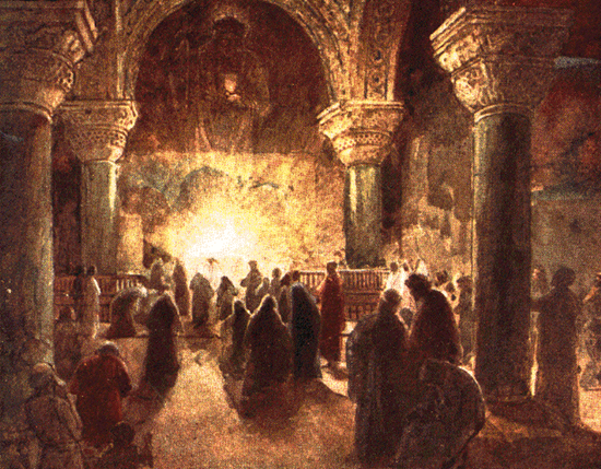 Early Christian church - Artist Unknown