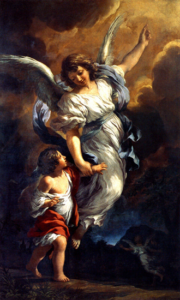 Guardian angel - Pietro da Cortona (1656)
