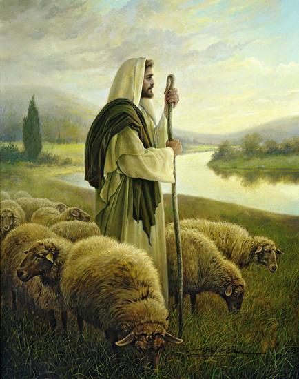The Good Shepherd - Greg Olsen (1997)