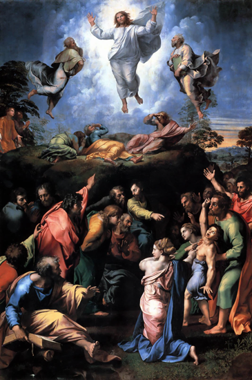 The Transfiguration (of Jesus) - Raphael (1520)