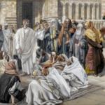 The Pharisees question Jesus - James Tissot (1886)