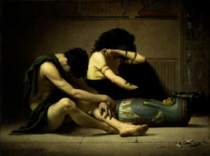 Lamentations over the Death of the First-Born of Egypt - Charles Sprague Pearce (1877)