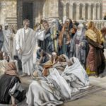 The Pharisees question Jesus - James Tissot