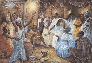 African Pentecost - Unknown Artist