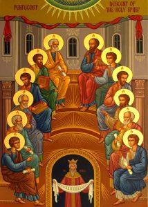 Pentecost Descent of the Holy Spirit - Bishop Daniel
