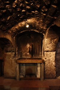 Prison of Christ - northeast side of Church of the Holy Sepulchre