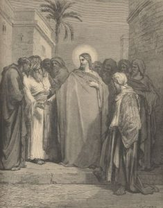 The Tribute Money by Gustave Dore(1866)