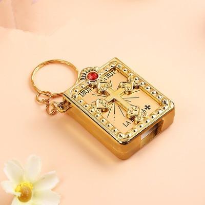 Mini Holy Bible Trinket Keychain
