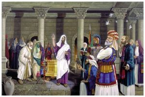 The Pharisees and the Sadducees - Artist unknown