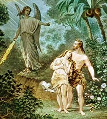Adam and Eve Banished from the Garden of Eden