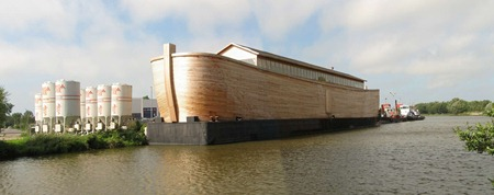 The Ark Van Johan is sea worthy too