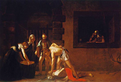 The Beheading of St. John the Baptist - Caravaggio (1573-1610)
