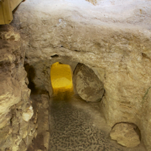 A tomb located next to the home is believed to be the burial place of Joseph, husband of Mary and Jesus' father