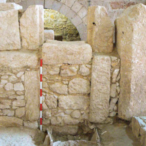 Doorway to home that Jesus was believed to have grown up in