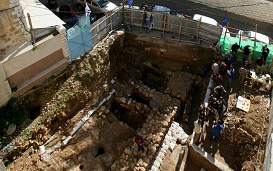 Home that Jesus was believed to have been raised in under the Sisters of Nazareth covnent