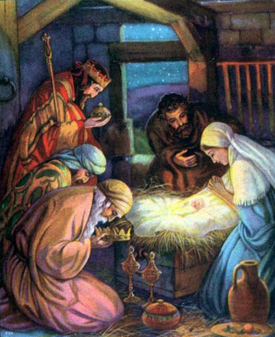 Birth Of Jesus Wise Men