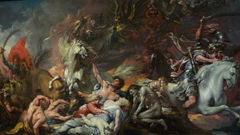 Death on a Pale Horse (1796) by Benjamin West