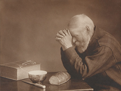 """Grace"" - photo by Eric Enstrom, 1918 (Charles Wilden, a poor peddler, in photo)"