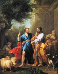 Jacob and Laban (unknown)