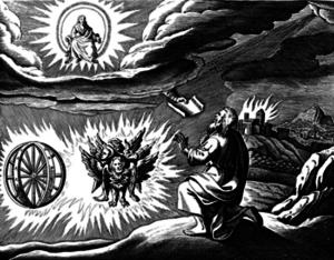 Ezekiel's vision - four living creatures