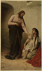 Christ Healing the Blind by Gabriel Max