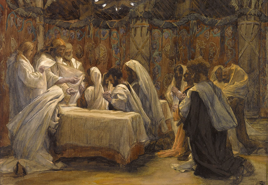 The Communion of the Apostles - Tissot