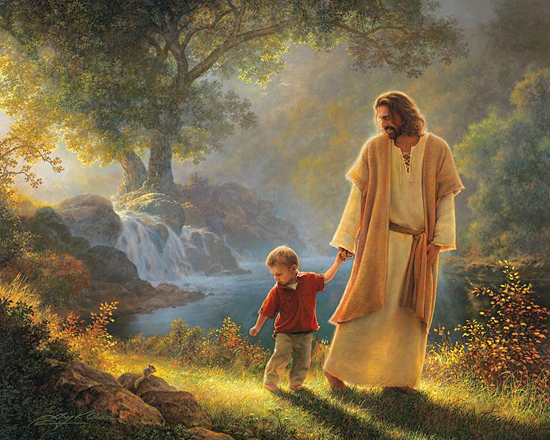 Take My Hand - Greg Olsen (gregolsen.com)