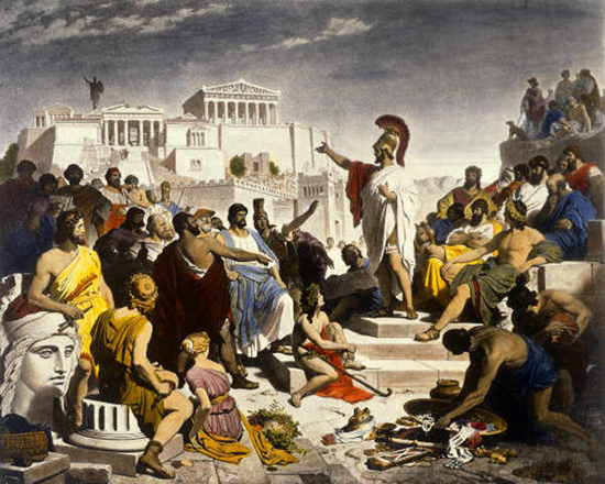 The Age of Pericles - by Philipp Von Foltz (1853)