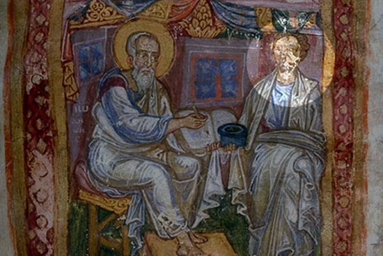 Marcion of Sinope (right)