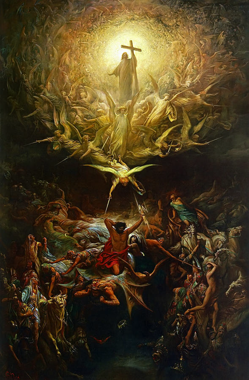 The Triumph Of Christianity Over Paganism - Gustave Dore (1868)