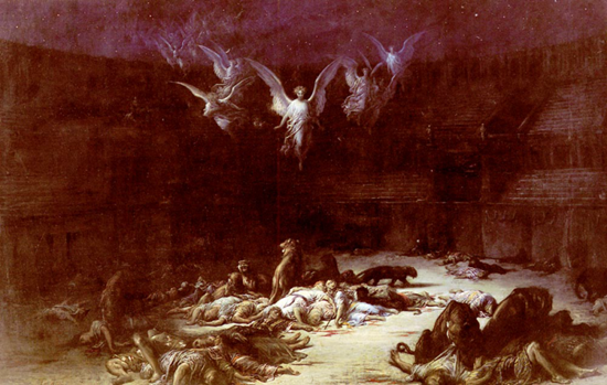 The Christian Martyrs - Gustave Dore (1832-1883)