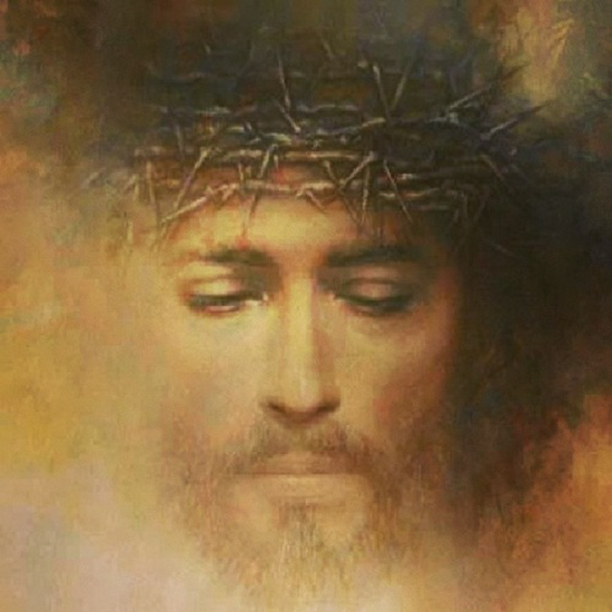 Christ face - unknown