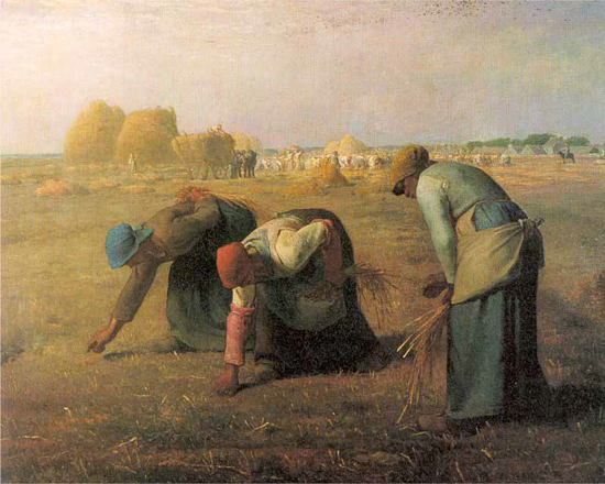The Gleaners - Jean-Francois Millet (1857)