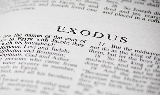 Detailed outline of the Book of Exodus - Israel's deliverance, covenant, God's royal tent