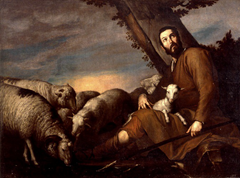 Jusepe de Ribera Jacob with the Flock of Laban (ca. 1638) Museo Cerralbo, Madrid