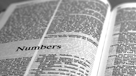 Detailed outline of the Book of Numbers - journey to the Promise Land, the new generation