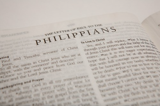 Detailed outline of the Book of Philippians
