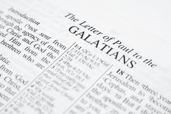 Detailed outline of the Book of Galatians