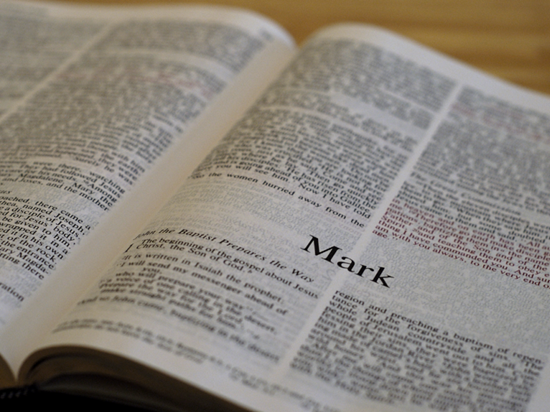 Detailed outline of the Book of Mark
