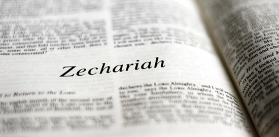 Detailed outline of the Book of Zechariah