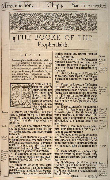 Detailed outline of the Book of Isaiah - prophecies, judgement, woes